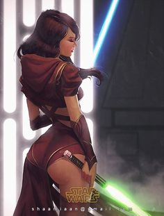 Grinding in some lengthy hours at course so this was a really good break from production work. This is for a contest that  is holding for her OC. Normally I would of went for the jedi robes bu...