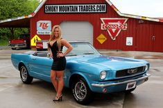 smoky mountain traders girls pics | Sapphire Blue 1966 Ford Mustang For Sale | MCG Marketplace