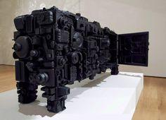 Artist Stuart Haygarth Created A Sideboard From Beach Waste