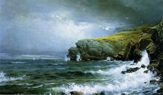 Rocky Shores by William Trost Richards (1833-1905)