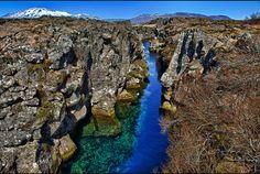 IJsland tektonische platen
