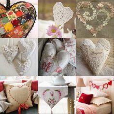 hand made hearts...