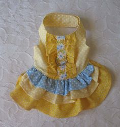 Dog Harness Dress Small by chloesheart on Etsy