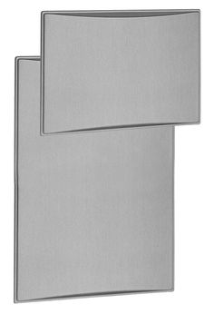 """This is a aluminum style raised door panel for a Dometic RM3762 Refrigerator. Constructed of a durable plastic with an aluminum style finish. A door panel slides into the grooves of the door frame to provide a clean look for the refrigerator door.  Dimensions: Upper: Roughly 17-3/8""""H x 24""""W Lower: Roughly 32-5/8""""H x 24""""W"""