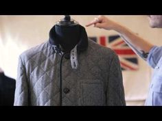 Designer's Notes: Tweed Quilted Barn Jacket #aw13 #farrell