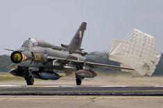 Polish Air Force Sukhoi Su-22M4 Landing