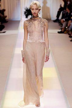 Giorgio #Armani Prive Autumn/Winter 2013-14 Couture #PurelyInspiration