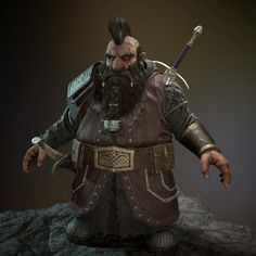 ArtStation - Thorin, Brandon Bennett