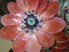 Seashell flower.