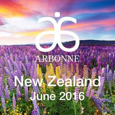 The latest country that will be joining the Arbonne family is New Zealand on June 2. Current Arbonne Consultants can also obtain more information on the newly released Leaders Growing New Zealand Source community #GTC2016 by arbonne