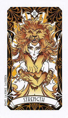 Strength - Magic Manga Tarot