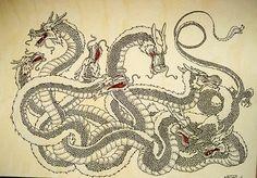Yamata No Orochi | Historia de los dragones | Josep M. Vilà