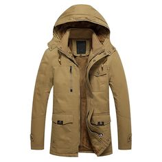 >> Click to Buy << Winter Jackets Mens 2016 New Slim Fit Snow Parkas Warm Thick Fashion Hooded Men Coats Military Jacket Plus Size Outerwear W144 #Affiliate