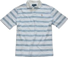Amazon.com: Polo Ralph Lauren Classic Woven-Collar Rugby: Clothing