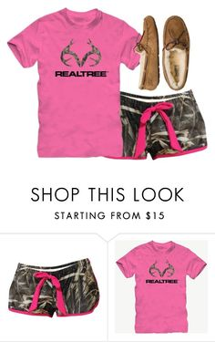 """""""Lazy Day"""" by forevercountry ❤ liked on Polyvore featuring Realtree and UGG Australia"""