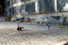 Little People By Slinkachu