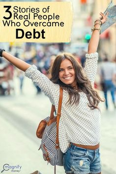 It always gets me excited when I hear from friends who have decided to embrace financial responsibility and get on the right track. It just goes to show that no matter how bad your debt is, there's always a way to conquer it once and for all. http://www.magnifymoney.com/blog/pay-down-my-debt/3-stories-real-people-overcame-debt1021665341/