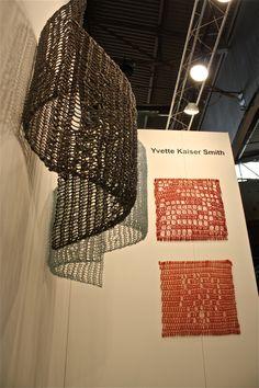 Yvette Kaiser Smith ~ crocheted fiberglass sculpture