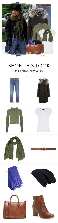 """Military Parka"" by talvadh ❤ liked on Polyvore featuring Oris, Weekend Max Mara, Woolrich, WearAll, Dorothy Perkins, Boutique Moschino, Halogen, Michael Kors, Timberland and Versace"