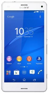 "Сотовый телефон Sony Xperia Z3 Compact D5803 White  — 24690 руб. —  смартфон, Android 4.4, экран 4.6"", разрешение 720x1280, камера 20.70 МП, автофокус, память 16 Гб, слот microSD (TransFlash), Bluetooth, NFC, Wi-Fi, 3G, LTE, LTE-A, GPS, ГЛОНАСС, аккумулятор 2600 мАч, вес 129 г, ШxВxТ 64.90x127x8.60 мм"