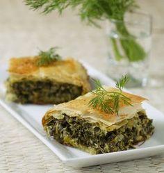 Feuilletés aux épinards et à la feta (Grèce) - Ôdélices : Recettes de cuisine faciles et originales !