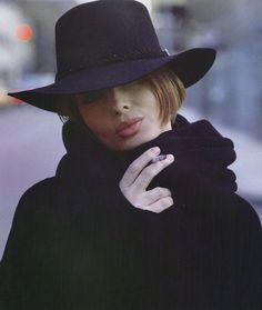 """Isabella Rossellini"", VOGUE Italia, February 1992Photographer: Steven MeiselModel: Isabella Rossellini"