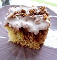 Cinnamon Roll Cake --MADE TWO LAST WEEKEND==CHANGED FROM YELLOW CAKE MIX TO WHITE LIKE EVEN MORE!!! THIS IS GREAT!!!
