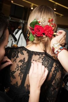 Dolce & Gabbana Spring 2015 Ready-to-Wear - Beauty - Gallery - Look 49 - Style.com