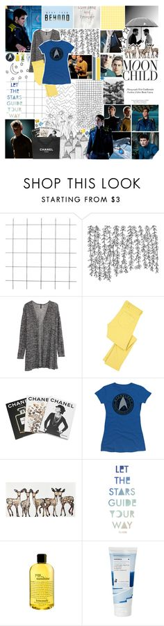 """""""'Fear of death is illogical' 'Fear of death is what keeps us alive'"""" by polystar10 ❤ liked on Polyvore featuring H&M, M.i.h Jeans, Assouline Publishing, Chanel, Billabong, philosophy, Korres and Picnic at Ascot"""