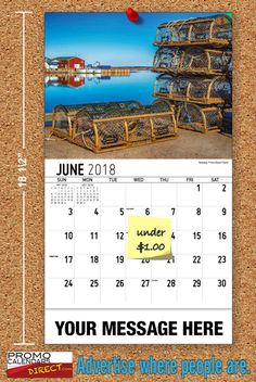 2021 Atlantic Canada Wall Calendars with your Business Name & Logo - low as Advertise in the homes and offices of people in your area all year! Marketing Approach, Atlantic Canada, Viral Marketing, Business Organization, Promote Your Business, Your Message, Calendar, Advertising, Strong