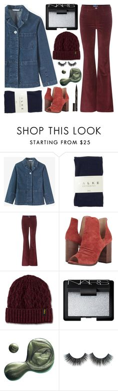 """""""Believe me, I`m not Pretending"""" by sweet-jolly-looks ❤ liked on Polyvore featuring Falke, M.i.h Jeans, Kristin Cavallari, Dr. Martens, NARS Cosmetics, Illamasqua and Smith & Cult"""