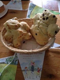 Bear Shaped Bread