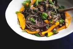 Yotam Ottolenghi's Soba with Eggplant and Mango » The Tart Tart