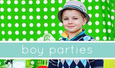 lots of party theme ideas and free printables on this site