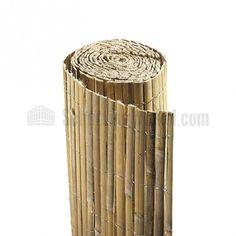gespleten bamboe schutting op rol bamboe schutting maken