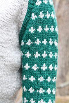 iris sweater by stephanie bora / in quince & co. lark