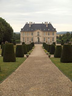 antiquellulaby: Chateau Vendeuvre, Normandy (This Ivy House)