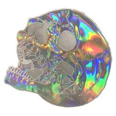 Holographic Skull Back Patch Pin And Patches, Iron On Patches, Jacket Patches, Vinyasa Yoga, Chakra Yoga, Fitness Video, Battle Jacket, Things To Buy, Stuff To Buy