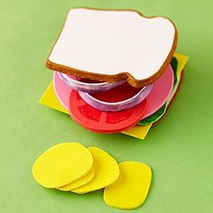 Fun Foam Craft Projects for Kids: Play-Food Craft (via Parents.com)