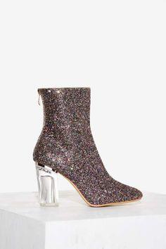 Block Party Glitter Boot