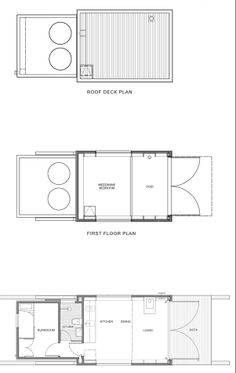 sled house crosson clarke carnachan architects plan Sled House: A House You Can Relocate With a Tractor?