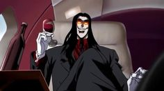 The English dub of Hellsing Ultimate is actually good. In fact I like it… Hellsing Alucard, Darth Vader, Fan Art, Tumblr, Cartoon, Manga, Movies, Fictional Characters, Destruction