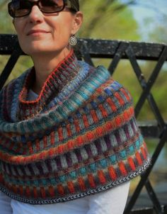 echarpe, scarf, frangiflutti, ravelry, edith filzhof, gratuit, pattern, free,inspira cowl,