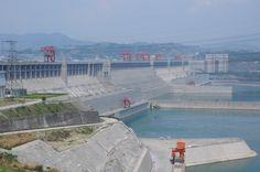 Dreischluchten Staudamm bei Yichang