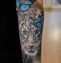 Amur leopard tat