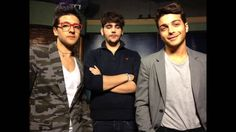 """Il Volo rehearses in Miami for 2013 Christmas concert, Mar 22, 2013.  Il Volo, the classically influenced teenage Italian pop group, rehearses at WLRN-TV studios in Miami for two upcoming Miami Beach performances, including a Christmas concert planned for PBS in late 2013.  The young men -- tenors Piero Barone, Ignazio Boschetto and baritone Gianluca Ginoble -- talk about working with their idol, Barbra Streisand, during her fall 2012 North American tour, and rehearse """"Silent Night."""""""