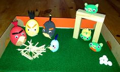 Easter egg competition - Angry Birds Easter Egg Competition Ideas, Easter Crafts, Crafts For Kids, Plastic Eggs, Egg Decorating, Holiday Time, Angry Birds, Nightmare Before Christmas, Easter Eggs