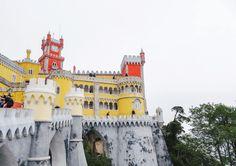 portugal sintra palacio da pena castle