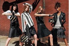 Sarah Brannon, Rianne Van Rompaey, Jean Campbell and Jaden Smith by Bruce Weber for Louis Vuitton Spring Summer 2016 Ad Campaign Fast Fashion, Fashion News, High Fashion, Fashion Trends, Unique Fashion, Fashion Fashion, Fashion Beauty, Bruce Weber, Jaden Smith Skirt