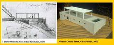 17/12/2015 ALBERTO STEFAN CAMPO WEWERKA BAEZA - Stefan Wewerka, Haus in Bad Karlshafen, 1978 - Alberto Campo Baeza, Casa De Blas, 2000